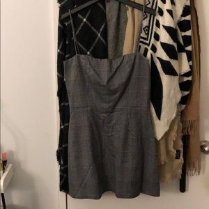 Reformation plaid dress NEVERWORN!